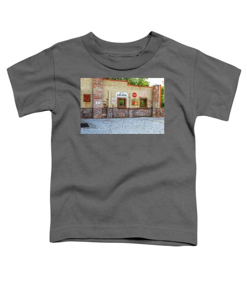 Old Saloon Wall Toddler T-Shirt