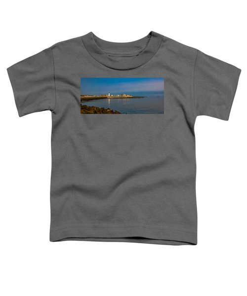 Old Scituate Light From The Jetty Toddler T-Shirt