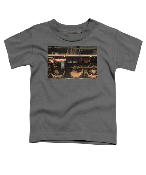 Old  Steam Train ...france Toddler T-Shirt