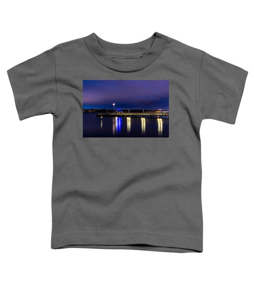 Old Town Pier During The Blue Hour Toddler T-Shirt