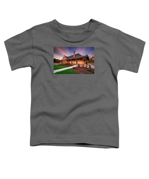 Old Train Station Toddler T-Shirt