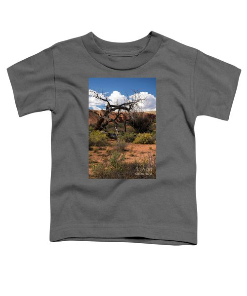 Old Tree In Capital Reef National Park Toddler T-Shirt