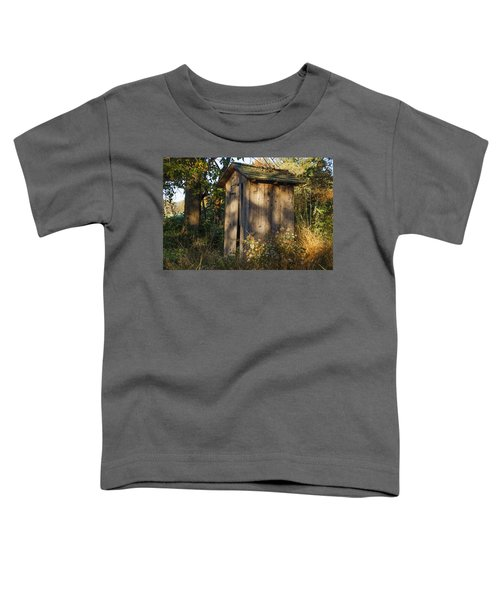 Old Valley Forge Outhouse Toddler T-Shirt