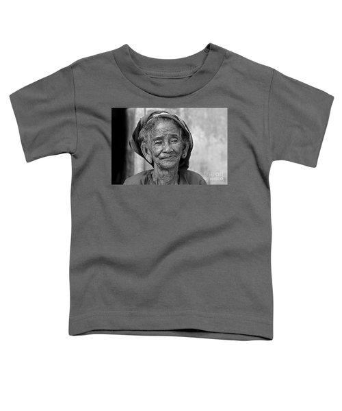 Old Vietnamese Woman Toddler T-Shirt