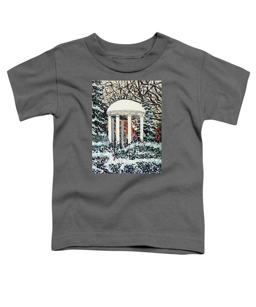 Old Well Winter Toddler T-Shirt