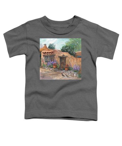 Old Adobe Cottage Toddler T-Shirt