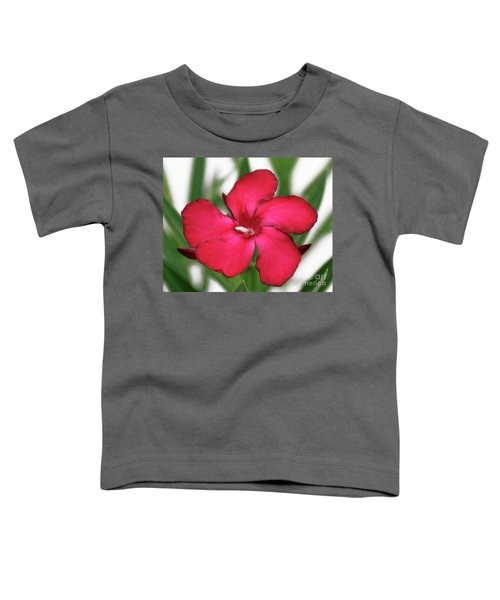 Oleander Blood-red Velvet 1 Toddler T-Shirt