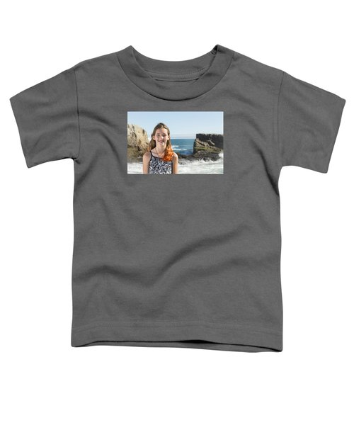 Olivia Toddler T-Shirt by Alex Lapidus