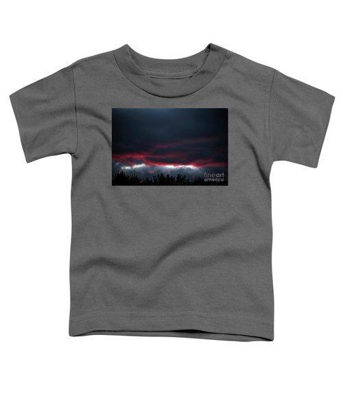 Ominous Autumn Sky Toddler T-Shirt