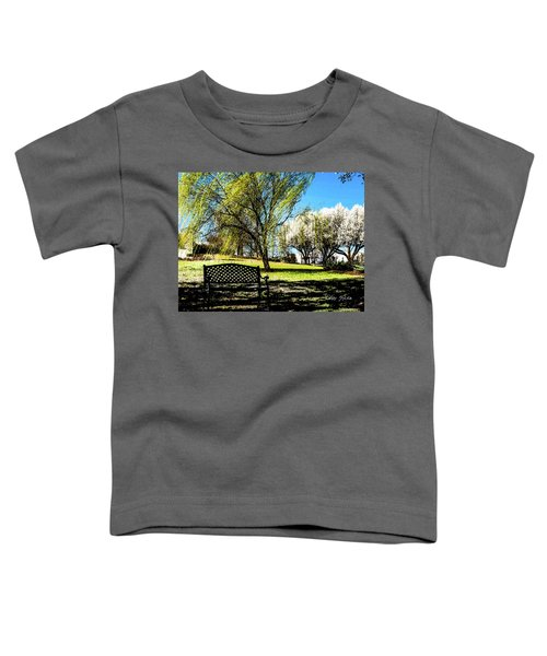 On The Bench Toddler T-Shirt