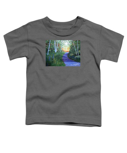 On The Path Toddler T-Shirt