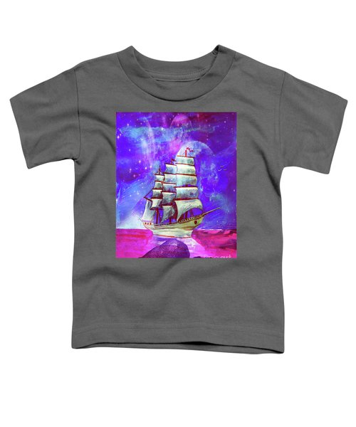 On The Sea At Sunset Toddler T-Shirt
