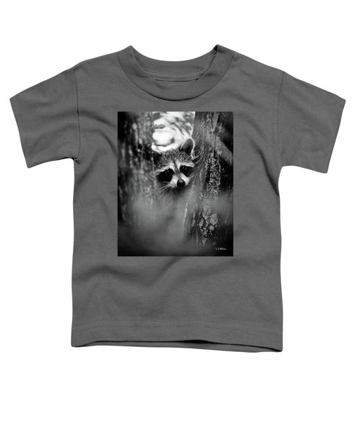 On Watch - Bw Toddler T-Shirt
