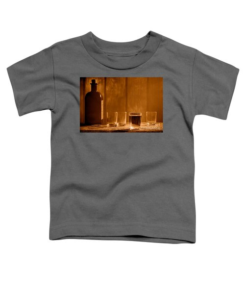 One More Drink - Sepia Toddler T-Shirt