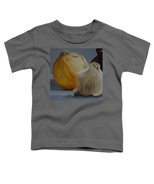 Onions And Garlic Toddler T-Shirt