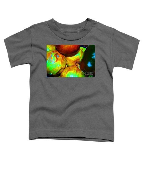 Onions Apples Pepper Closeup Toddler T-Shirt