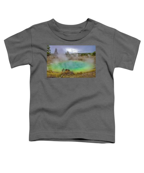 Opal Spring Yellowstone National Park Toddler T-Shirt