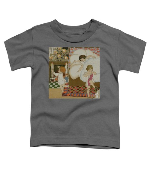 Opening The Christmas Stockings Toddler T-Shirt