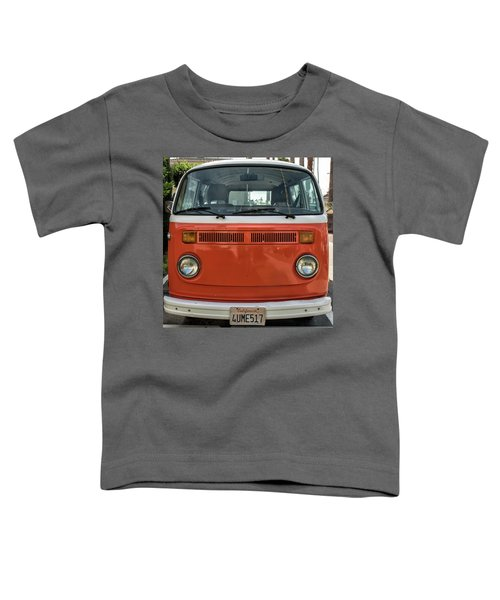 Orange Bus Toddler T-Shirt