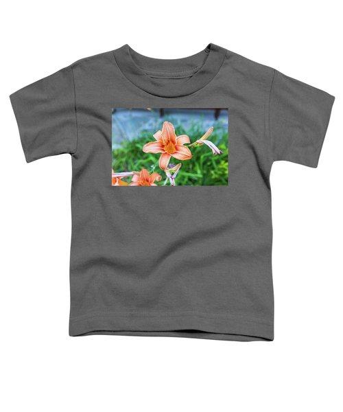 Orange Daylily Toddler T-Shirt