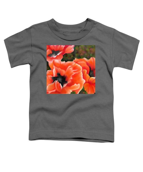 Orange Poppies Toddler T-Shirt