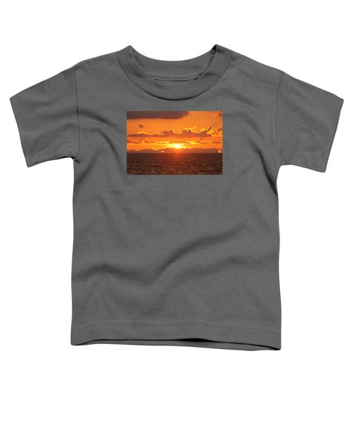 Orange Skies At Dawn Toddler T-Shirt