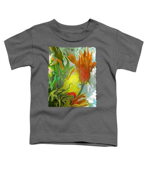 Orange Tulip Toddler T-Shirt by Kathy Moll