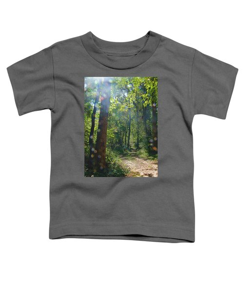 Orbs In The Woods Toddler T-Shirt