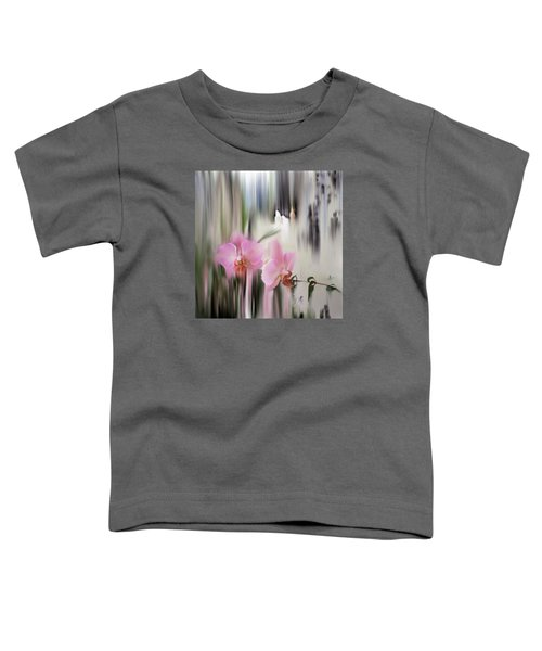 Orchids With Dragonflies Toddler T-Shirt