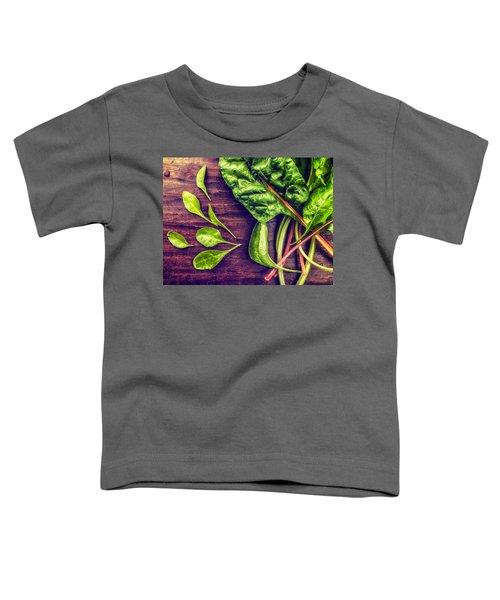 Organic Rainbow Chard Toddler T-Shirt