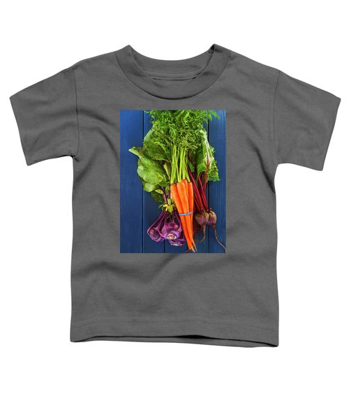 Organic Vegetables Toddler T-Shirt