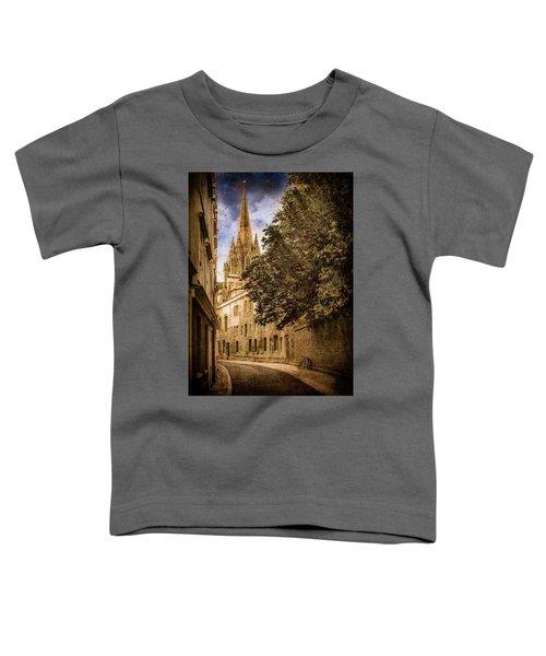 Oxford, England - Oriel Street Toddler T-Shirt