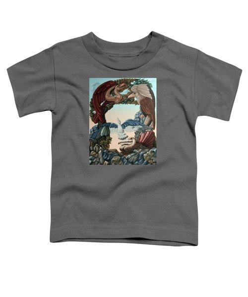 Ornithological Symphony By Ludwig Van Beethove Toddler T-Shirt