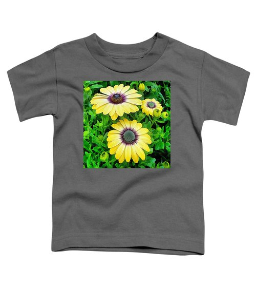 Osteospermum Serenity Blue Toddler T-Shirt