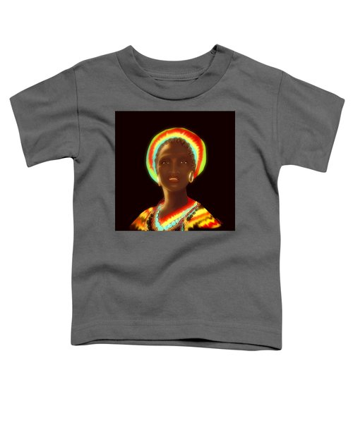 Toddler T-Shirt featuring the digital art Osumare by Gerry Morgan