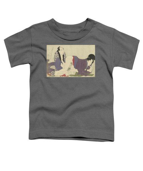 Ouder Getrouwd Stel Bedrijft De Liefde Toddler T-Shirt