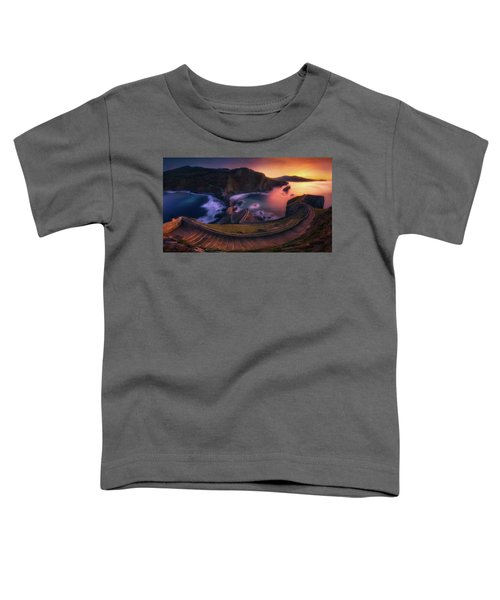 Our Small Wall Of China Toddler T-Shirt