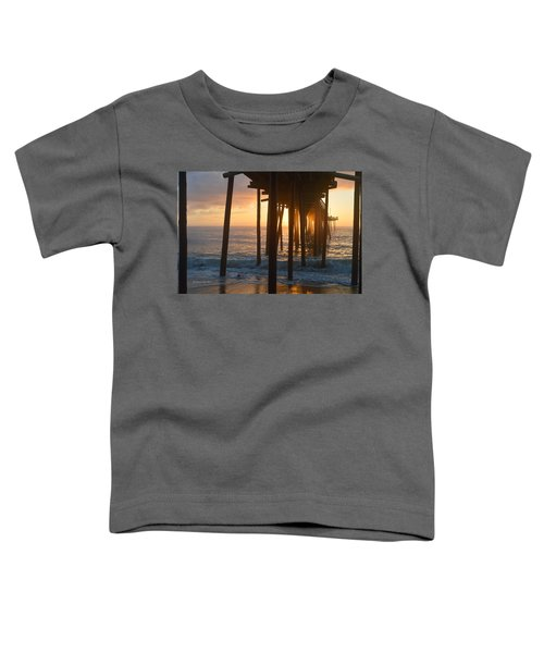 Outer Banks Pier 7/6/18 Toddler T-Shirt