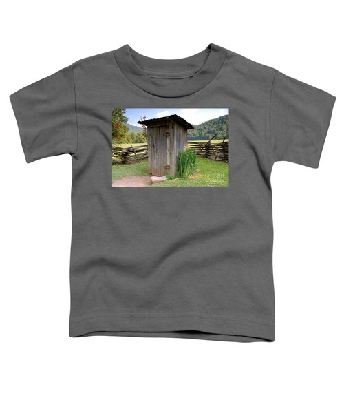 Outhouse Toddler T-Shirt