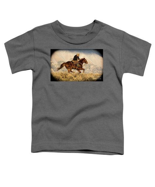 Outlaw Kelly Western Art By Kaylyn Franks Toddler T-Shirt