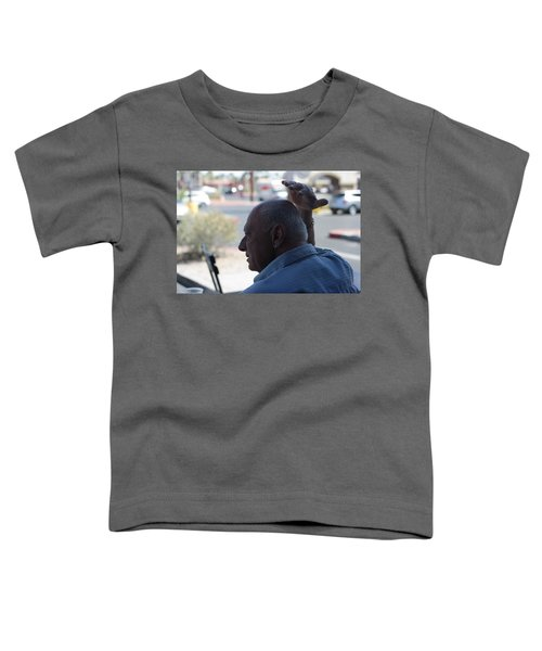 Outside The Cafe Toddler T-Shirt
