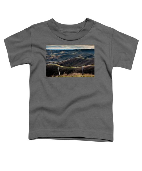 Over The Back Fence Toddler T-Shirt