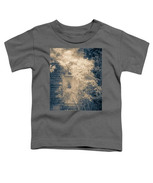 Overgrowth On Abandoned Pumping Station Toddler T-Shirt