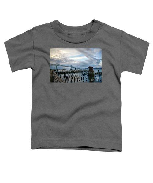 Overlooking The Bridge Toddler T-Shirt