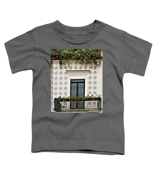 Overlooking The Piazza Toddler T-Shirt