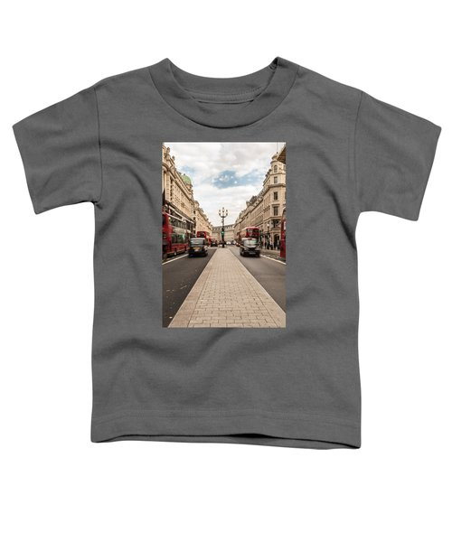 Oxford Street In London Toddler T-Shirt