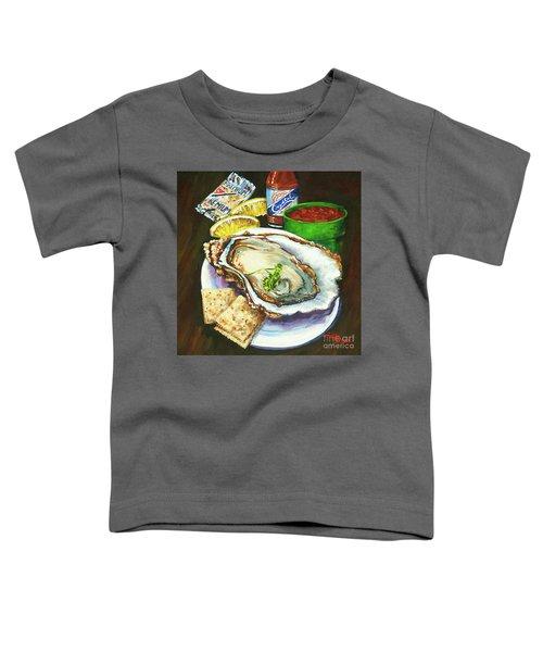 Oyster And Crystal Toddler T-Shirt