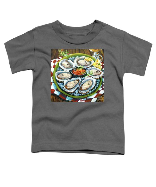 Oysters On The Half Shell Toddler T-Shirt