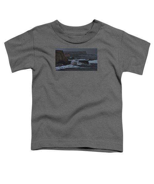 Pacific Cliffs Of Davenport Toddler T-Shirt