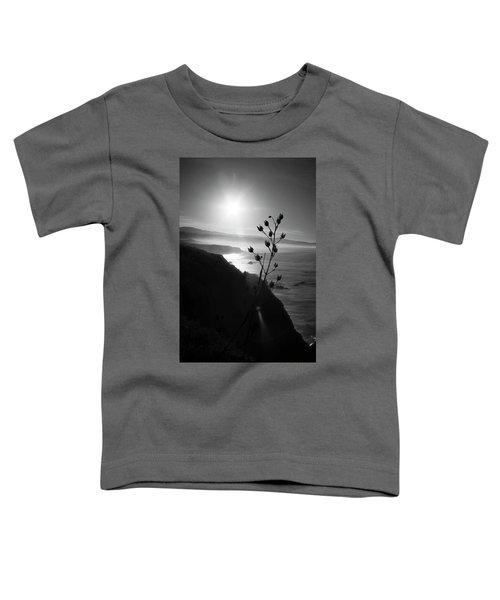 Pacific Coast B/w Toddler T-Shirt